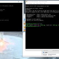 VirtualBox connect to VM via SSH / Portforwarding in VirtualBox